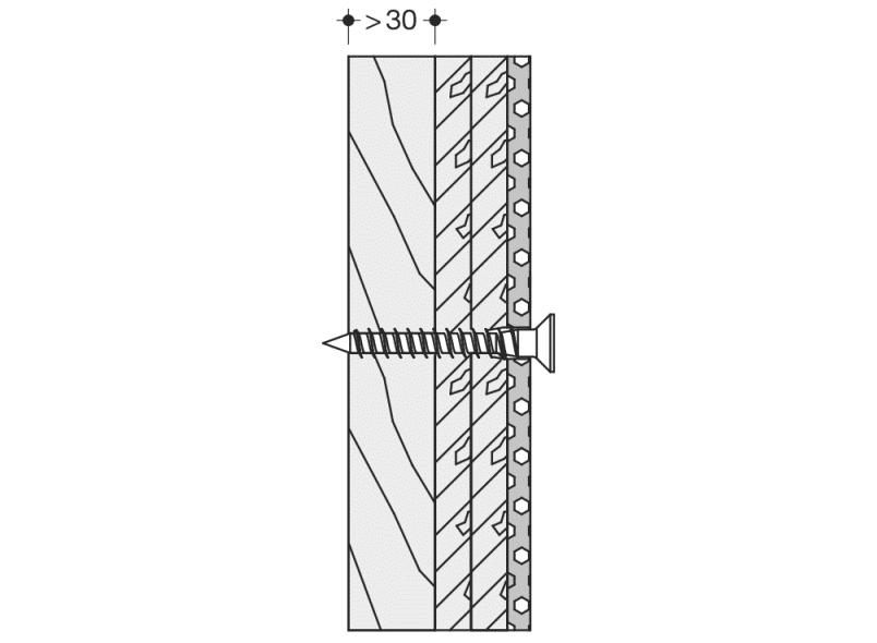 HEWI Befestigungsmaterial Serie 801