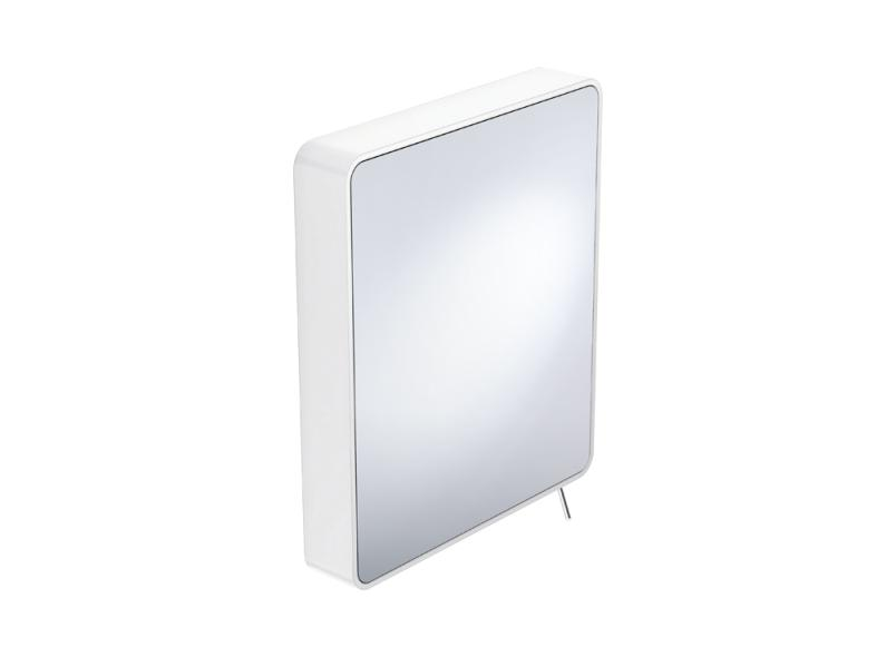 Miroir inclinable hewi for Miroir cadre blanc