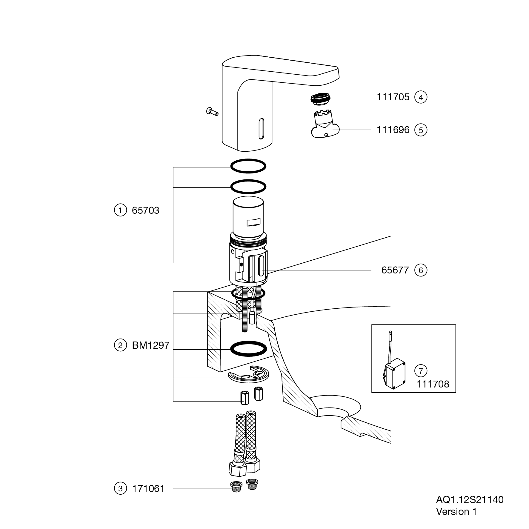 Full together with Volvo Penta Parts Diagram additionally Pirotechnia furthermore Hewi Sensoric Electronic Washbasin Fitting AQ1 besides Crb60c Parts Diagram. on aq1